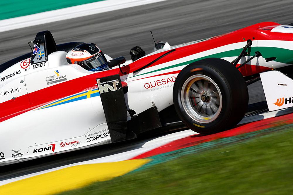 1 Felix Rosenqvist (SWE, Prema Powerteam, Dallara F312 – Mercedes-Benz), FIA Formula 3 European Championship, round 8, Red Bull Ring (AUT) - 31. July - 2. August 2015