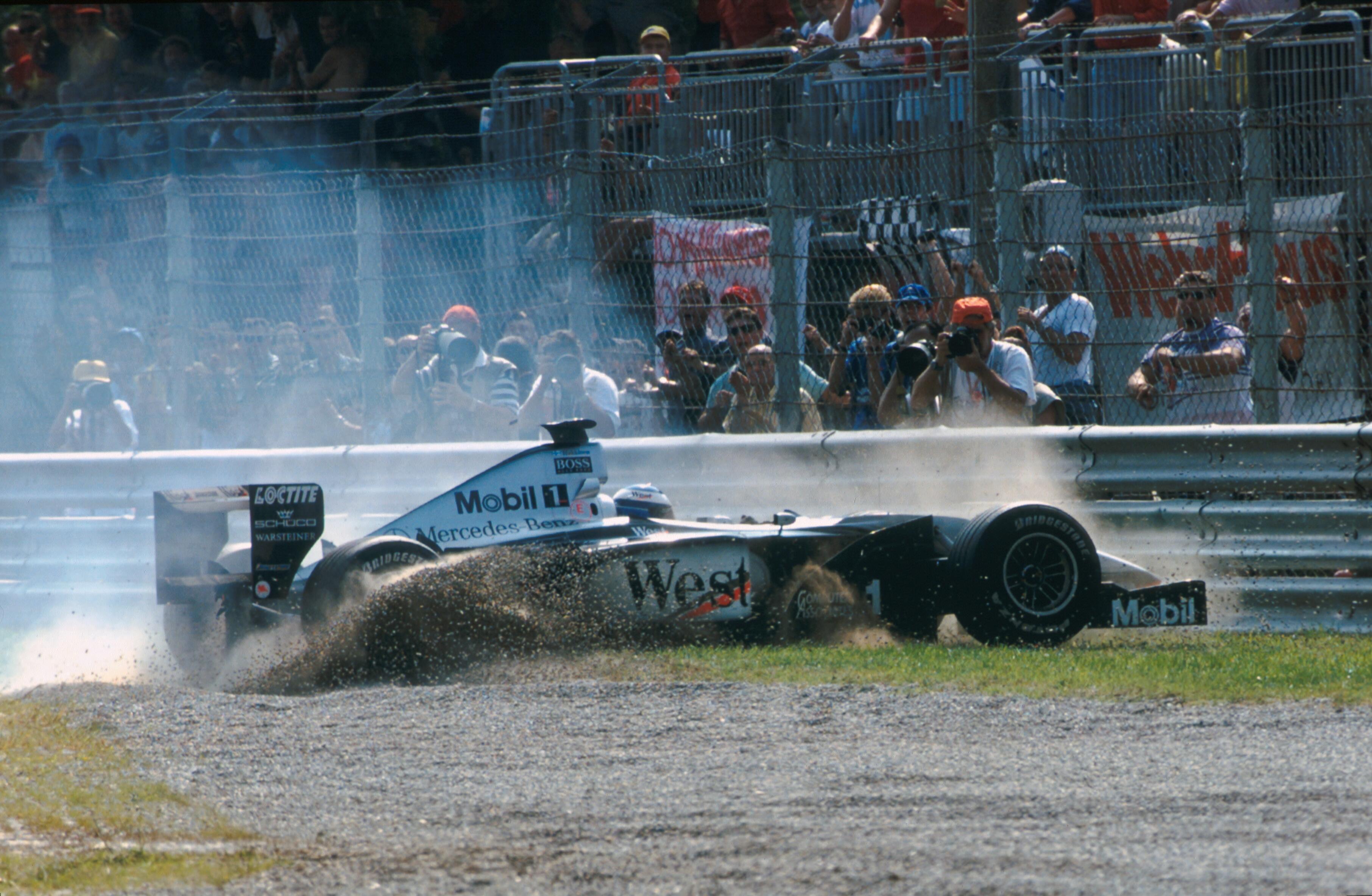 Mika Häkkinen 1999 Monza