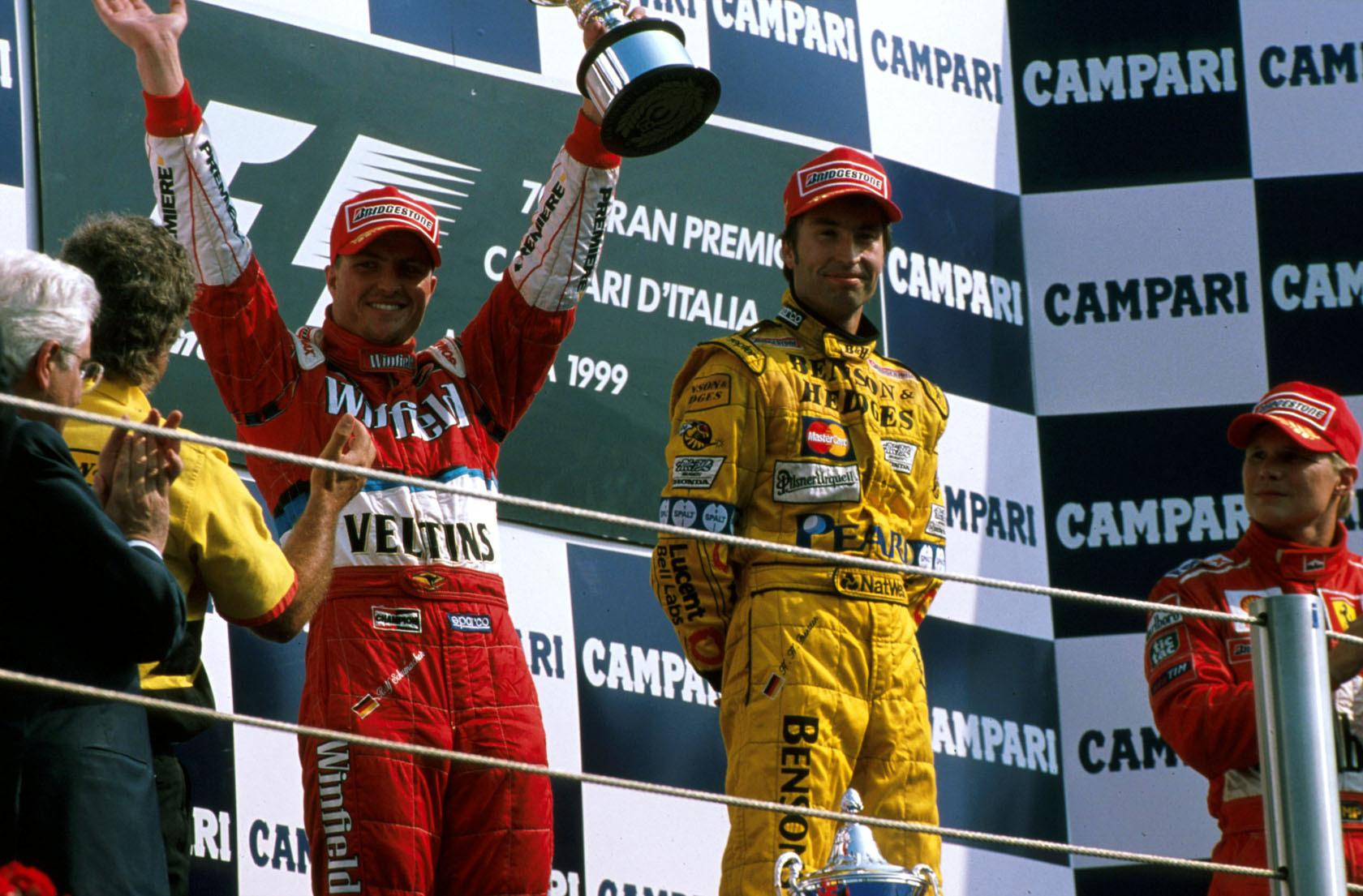 Podio GP Italia 1999