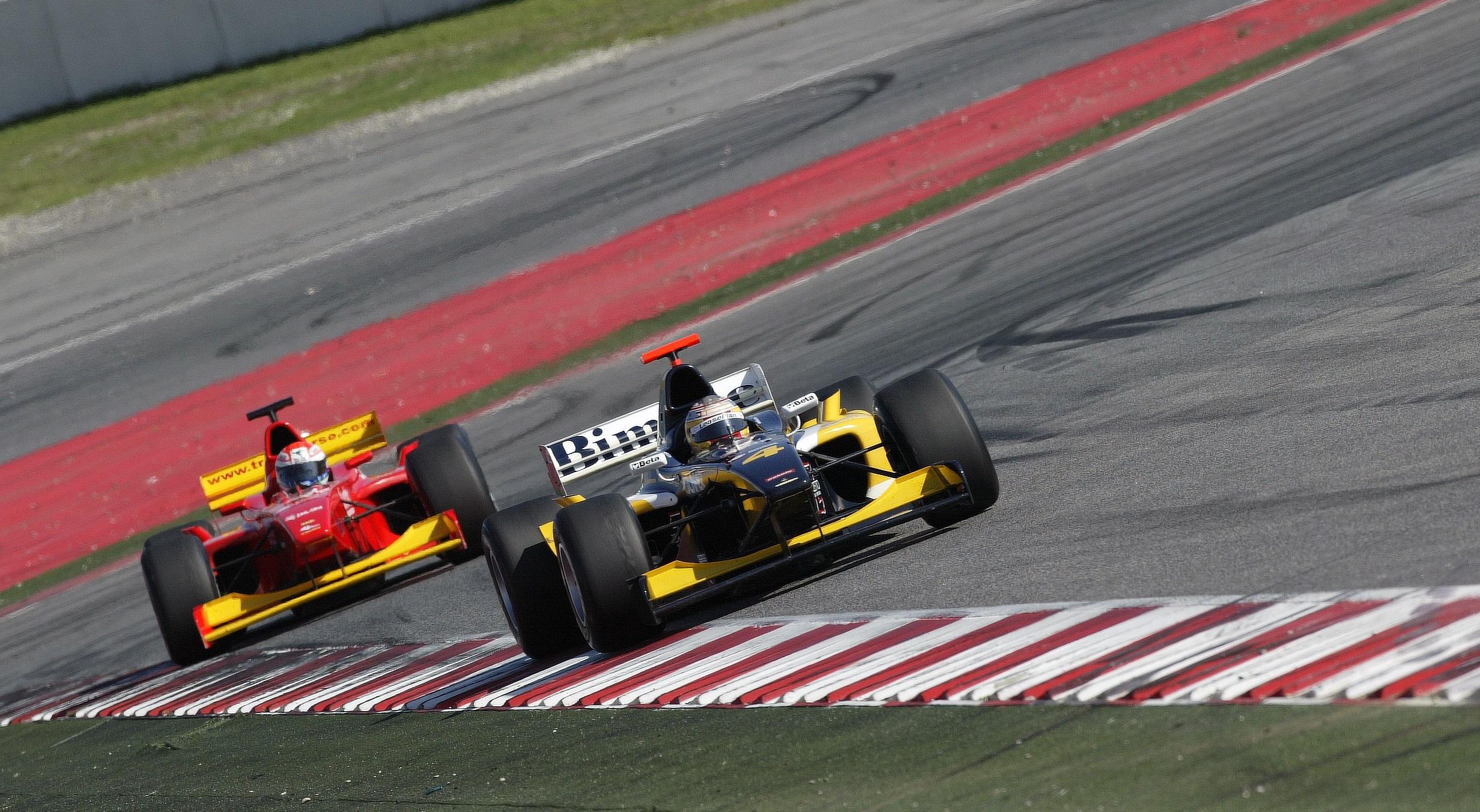 Roldán Rodríguez Euroseries 3000, 2006