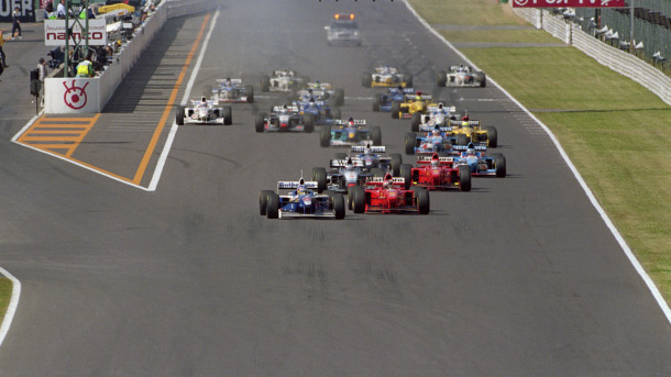 Salida GP Japón 1997