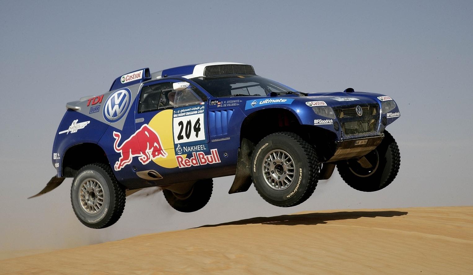 Volkswagen Touareg Dakar