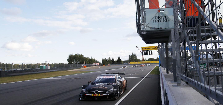 Wehrlein Moscow Raceway DTM 2015