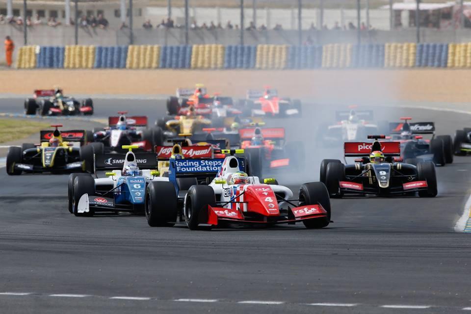 Salida FR3.5 Le Mans 2015