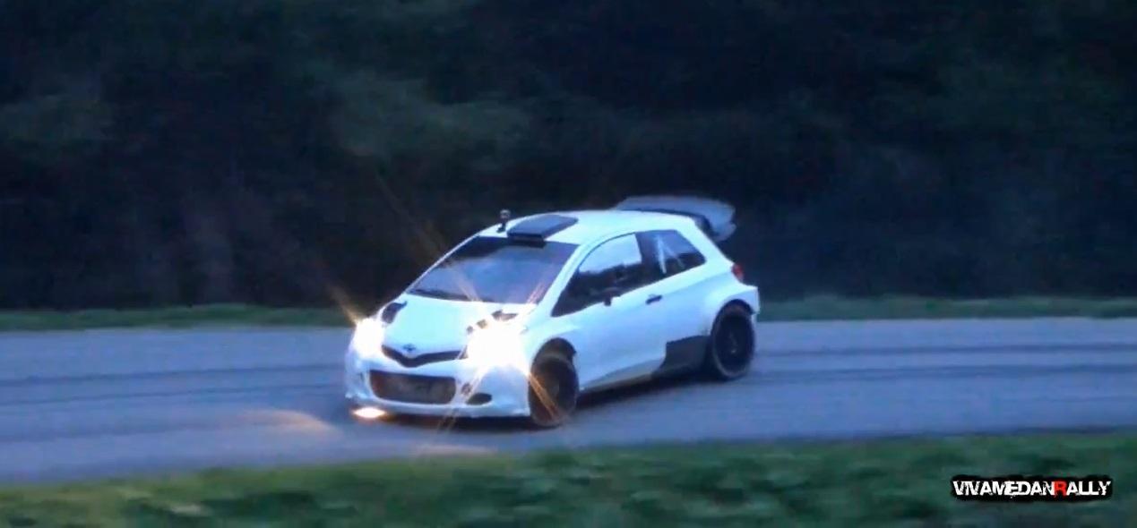 Toyota Yaris WRC - Test Italy 2015 Day 2