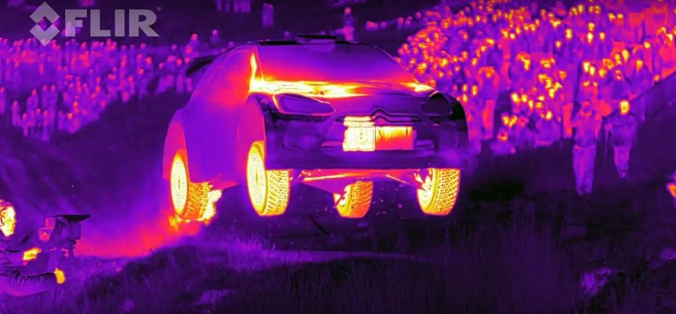 citroen-ds3-wrc-cámara-termografica-2015-flir