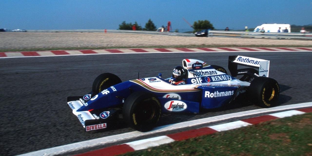 Damon Hill 1994 Estoril Williams