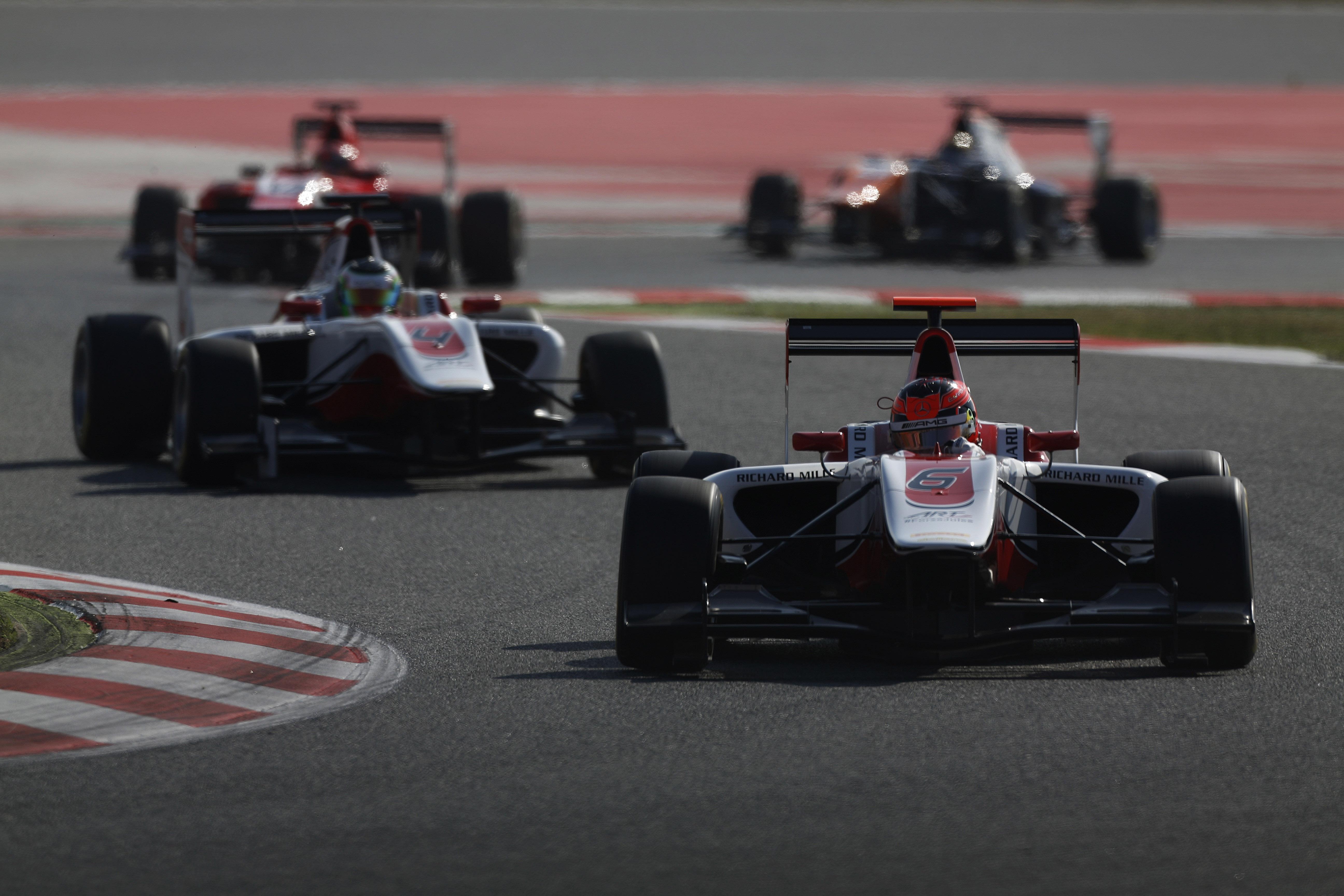 Esteban Ocon GP3 Barcelona 2015