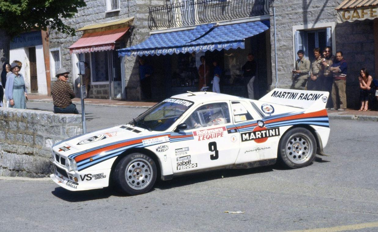 Lancia 037 Córcega 1983