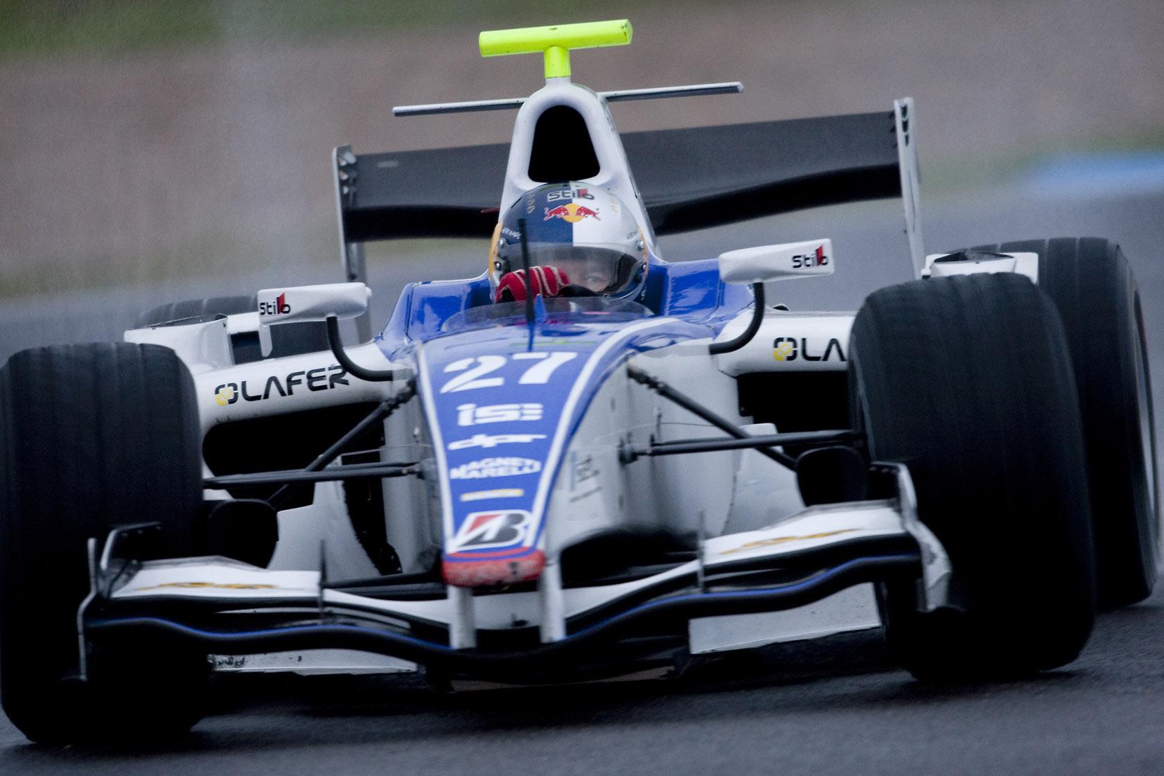Sébastien Loeb GP2 Test 2009 Jerez