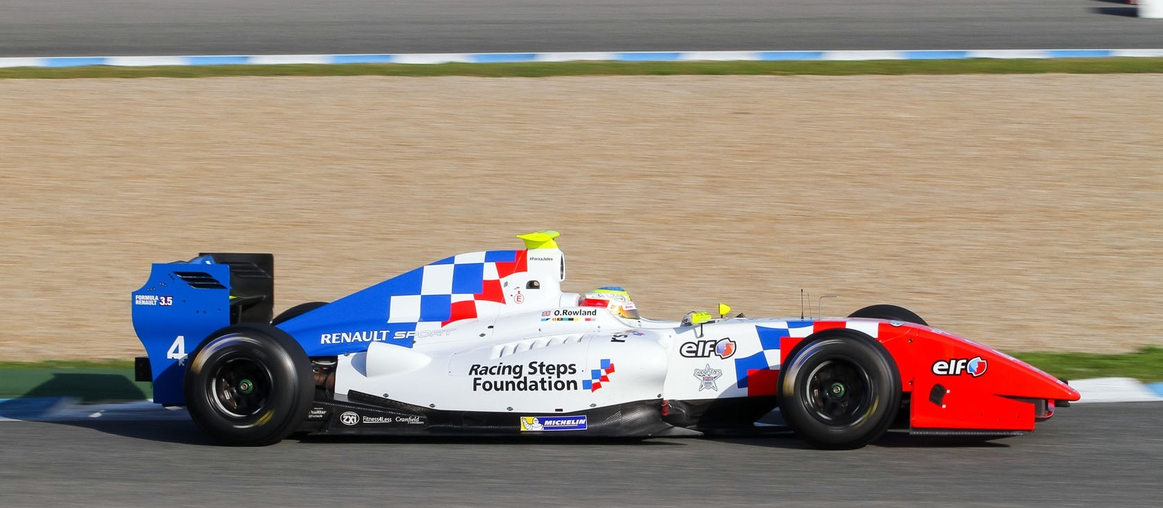Oliver Rowland 2015 Jerez