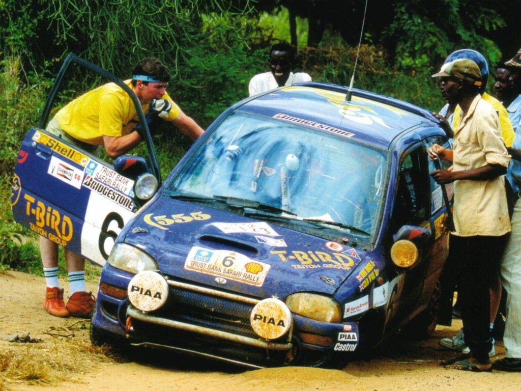 Subaru Vivio Rally Safari 1993