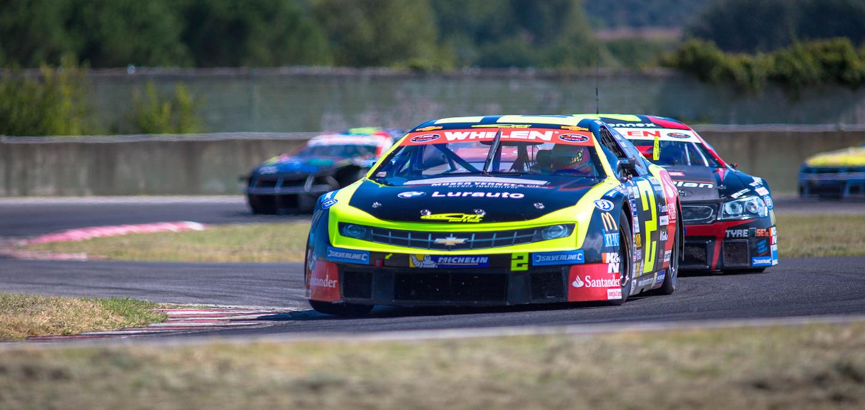 Ander Vilariño NASCAR Whelen Euroseries 2015