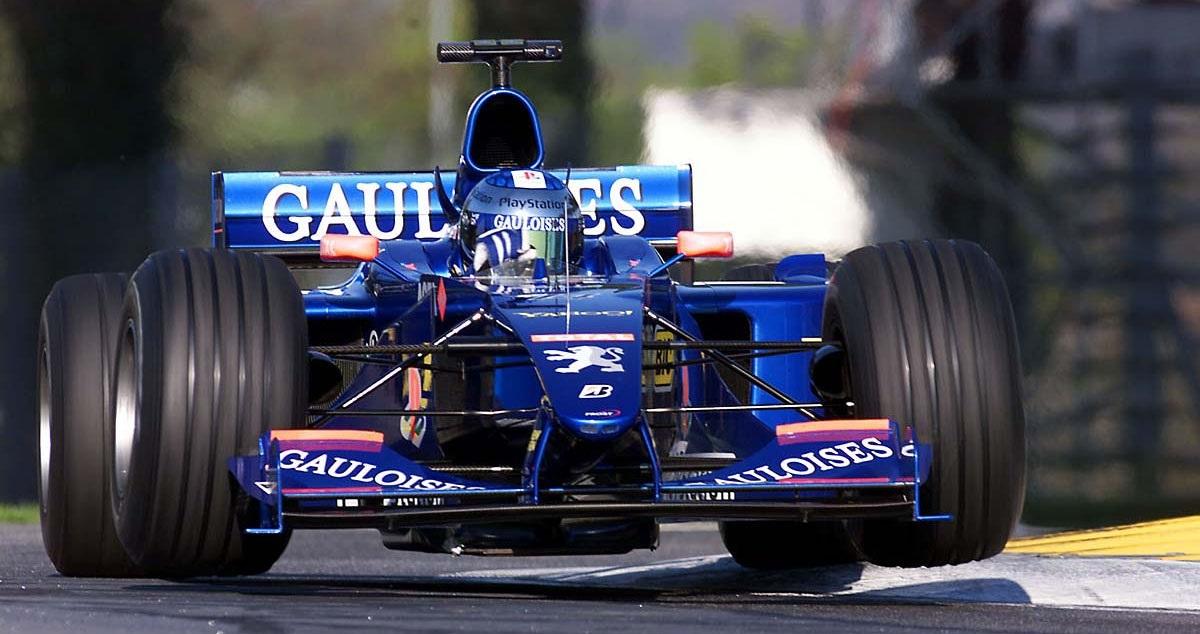 Jean Alesi GP San Marino 2000