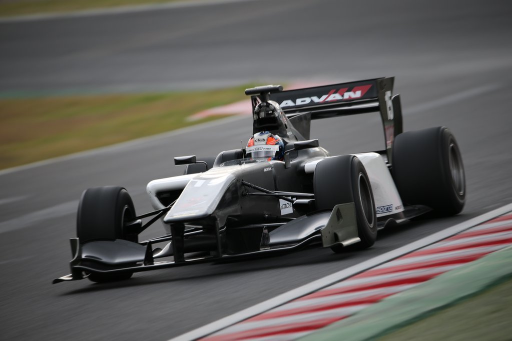 Richie Stanaway 2015 Test Super Fórmula Suzuka