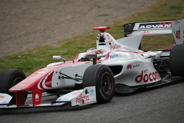 Stoffel Vandoorne Super Fórmula Test Suzuka 2015