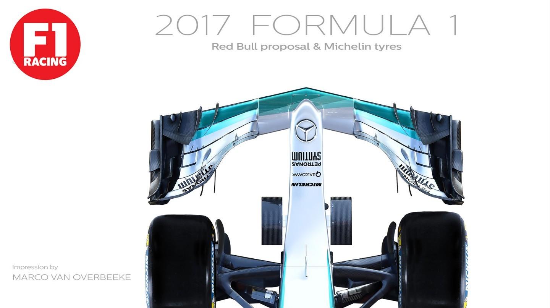 Os gusta la idea de Fórmula 1 que nos espera para la temporada 2017 ...