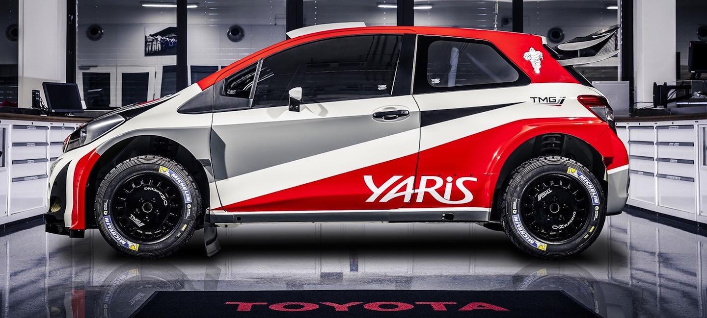 Toyota Yaris WRC TMG 2015