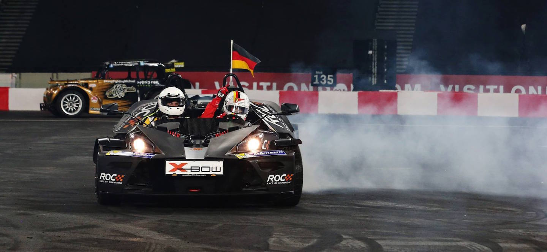 Vettel Carrera de Campeones 2015