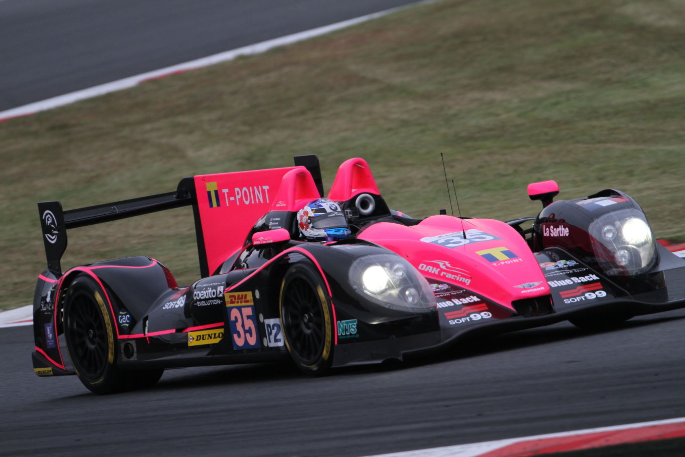 Keiko Ihara LMP2 Asian Le Mans Series