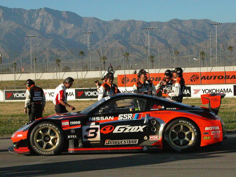 Nissan Z Hasemi Motorsports Fontana JGTC 2004