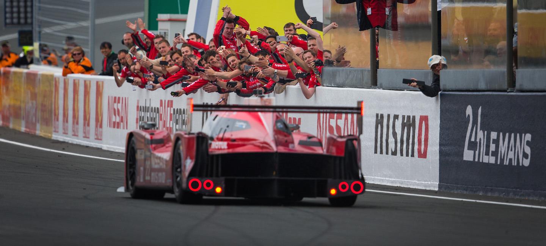 Nissan GT-R LM NISMO meta Le Mans 2015