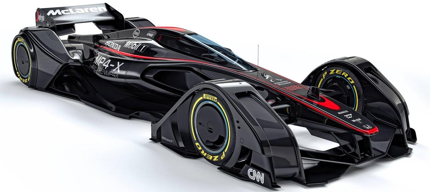 McLaren nos muestra con su MP4-X cómo ve el futuro de la Fórmula 1