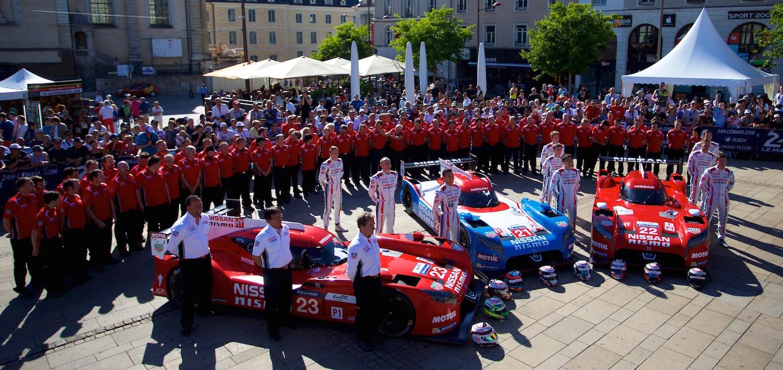 Presentación Nissan Le Mans 2015