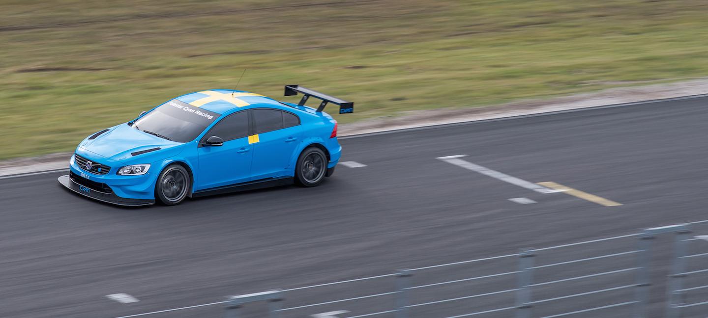 Volvo WTCC test 2015