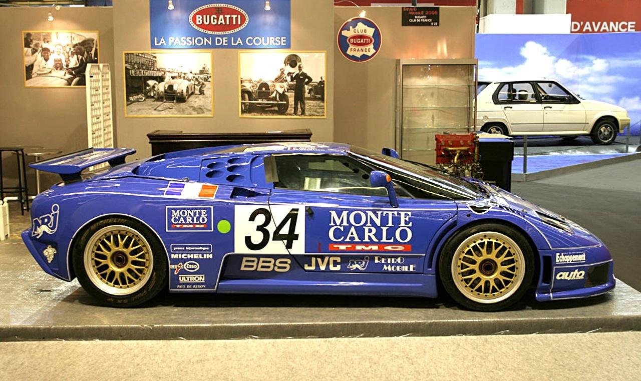 Bugatti EB110 Le Mans