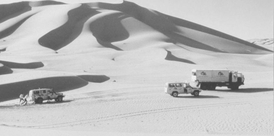 Reconocimientos Dakar 1986