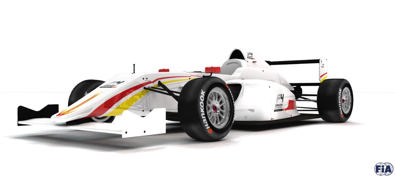 Calendario F4 Española 2016
