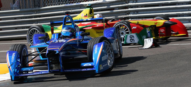 Durán Fórmula E Mónaco 2015