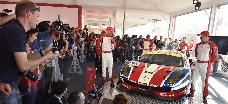 Ferrari 488 pilotos 2016