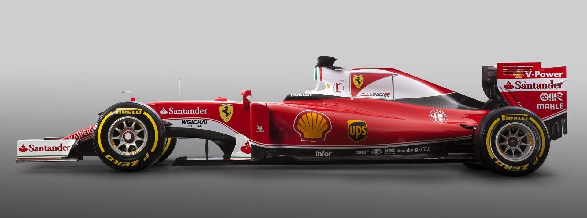Ferrari SF16H Lateral