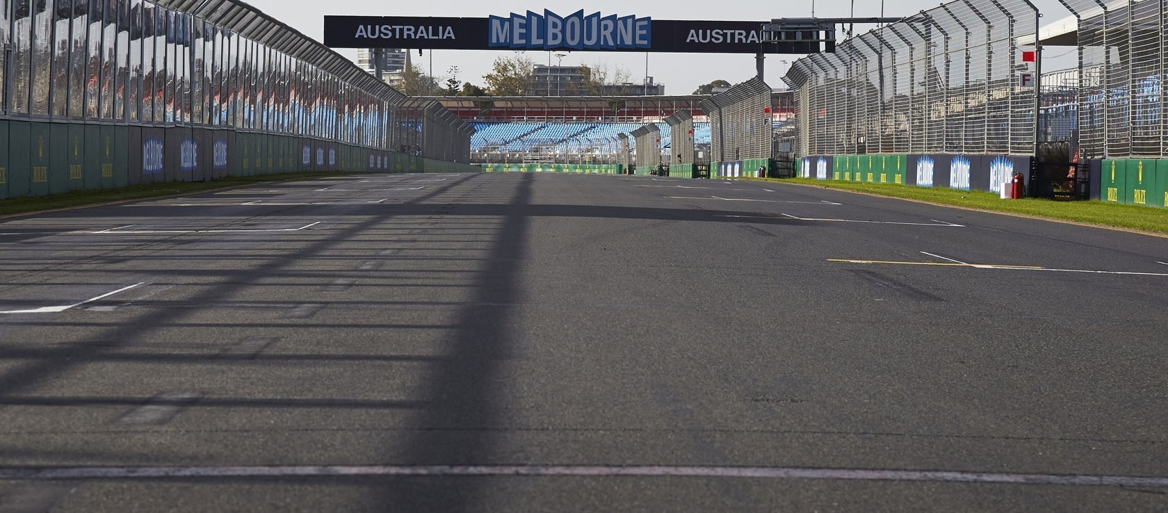 Albert Park Parrilla F1