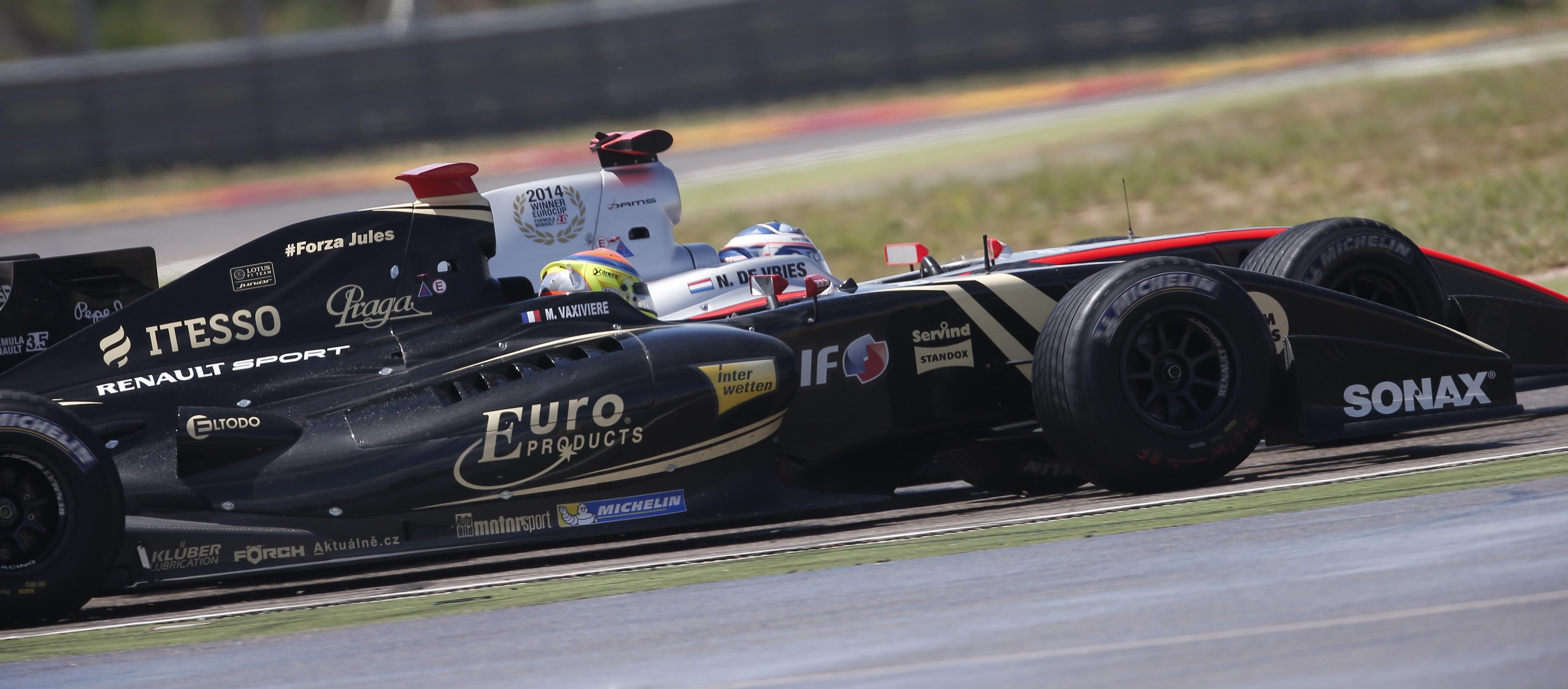 Fórmula Renault 3.5 Aragón 2015