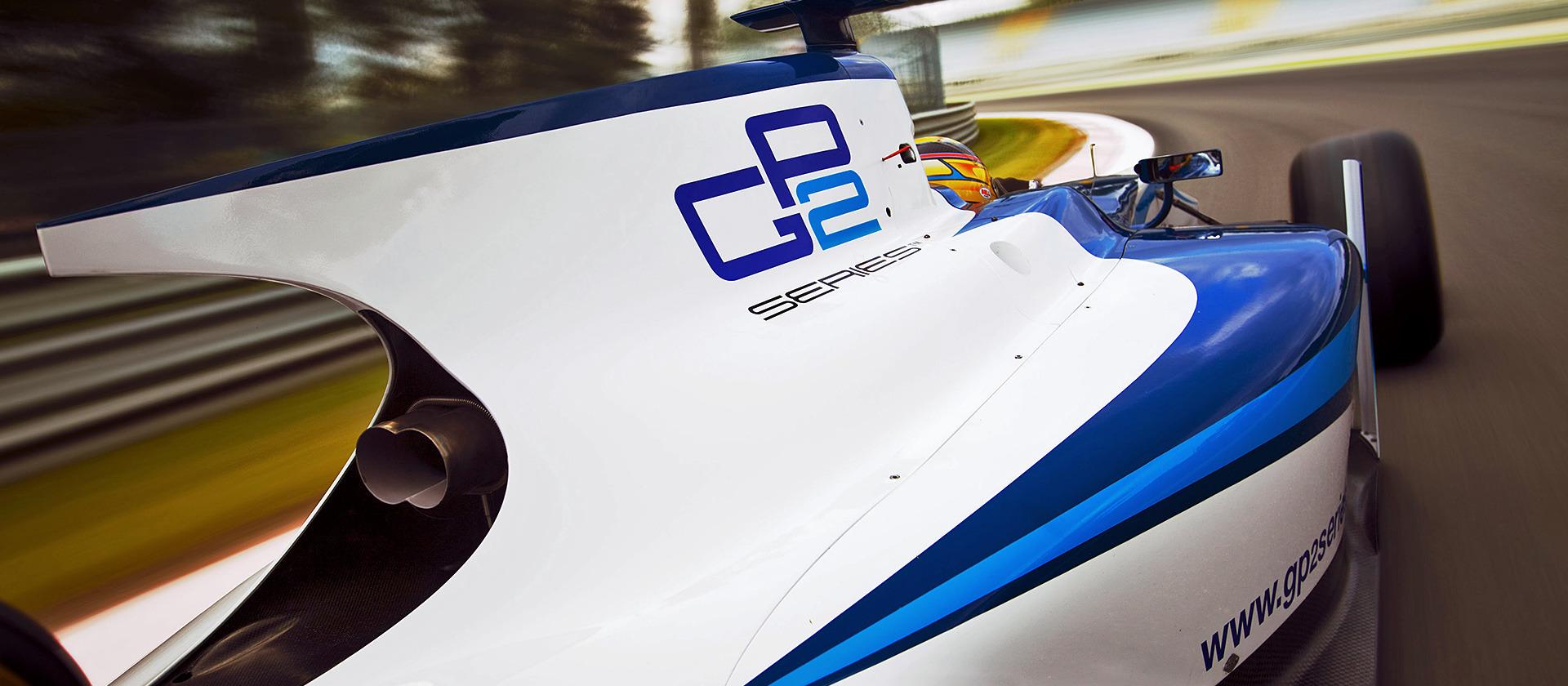 GP2 Series Logo Coche