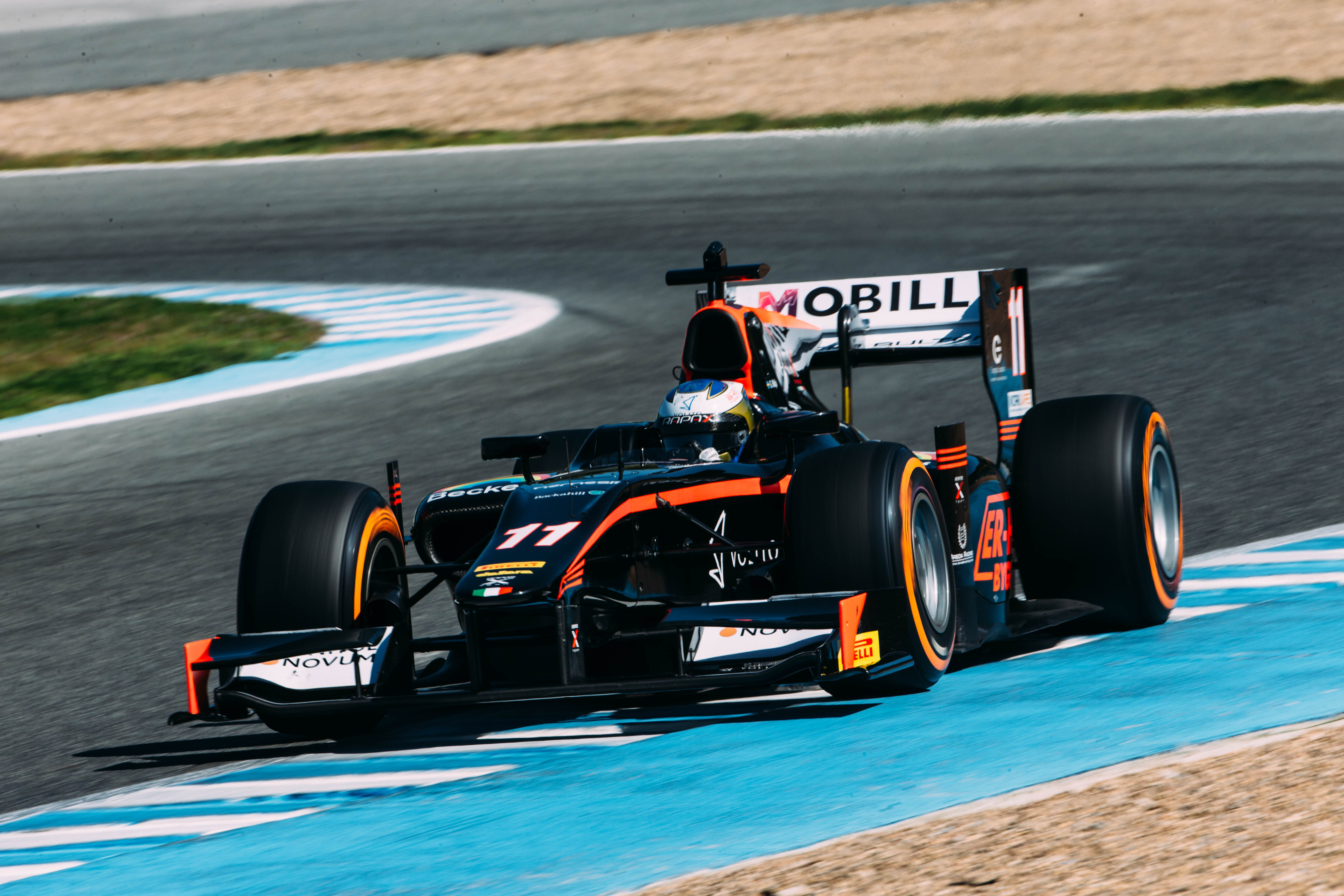 Gustav Malja GP2 Test Jerez 2016 Día 2