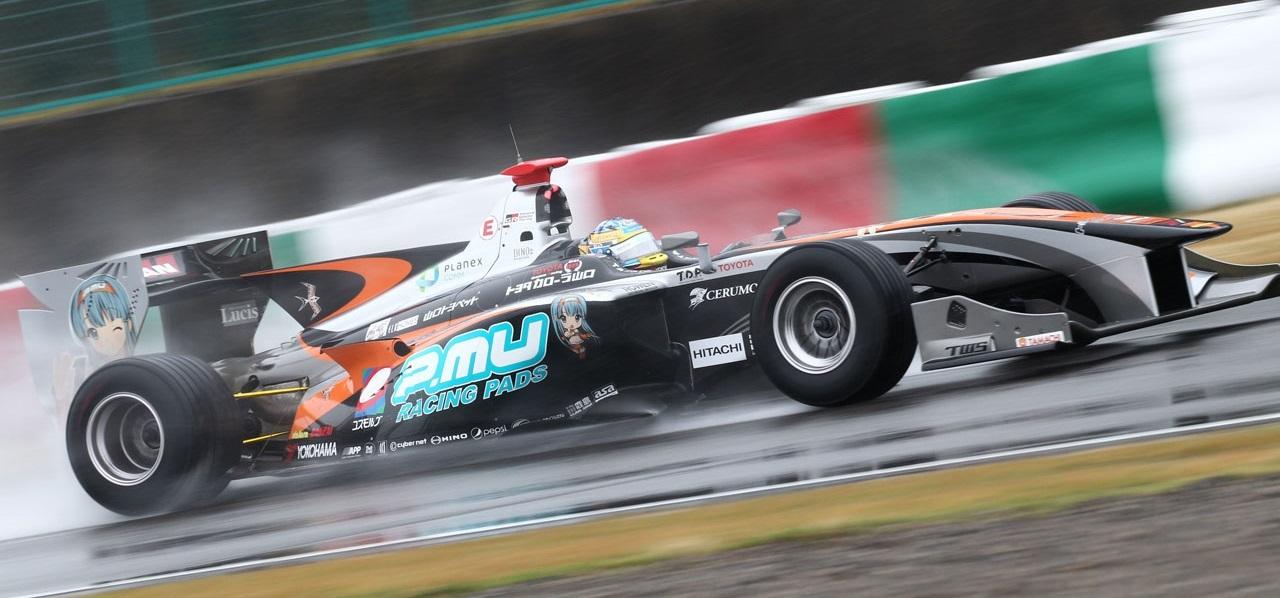 Hiroaki Ishiura Test Super Fórmula 2016 Suzuka Día 1