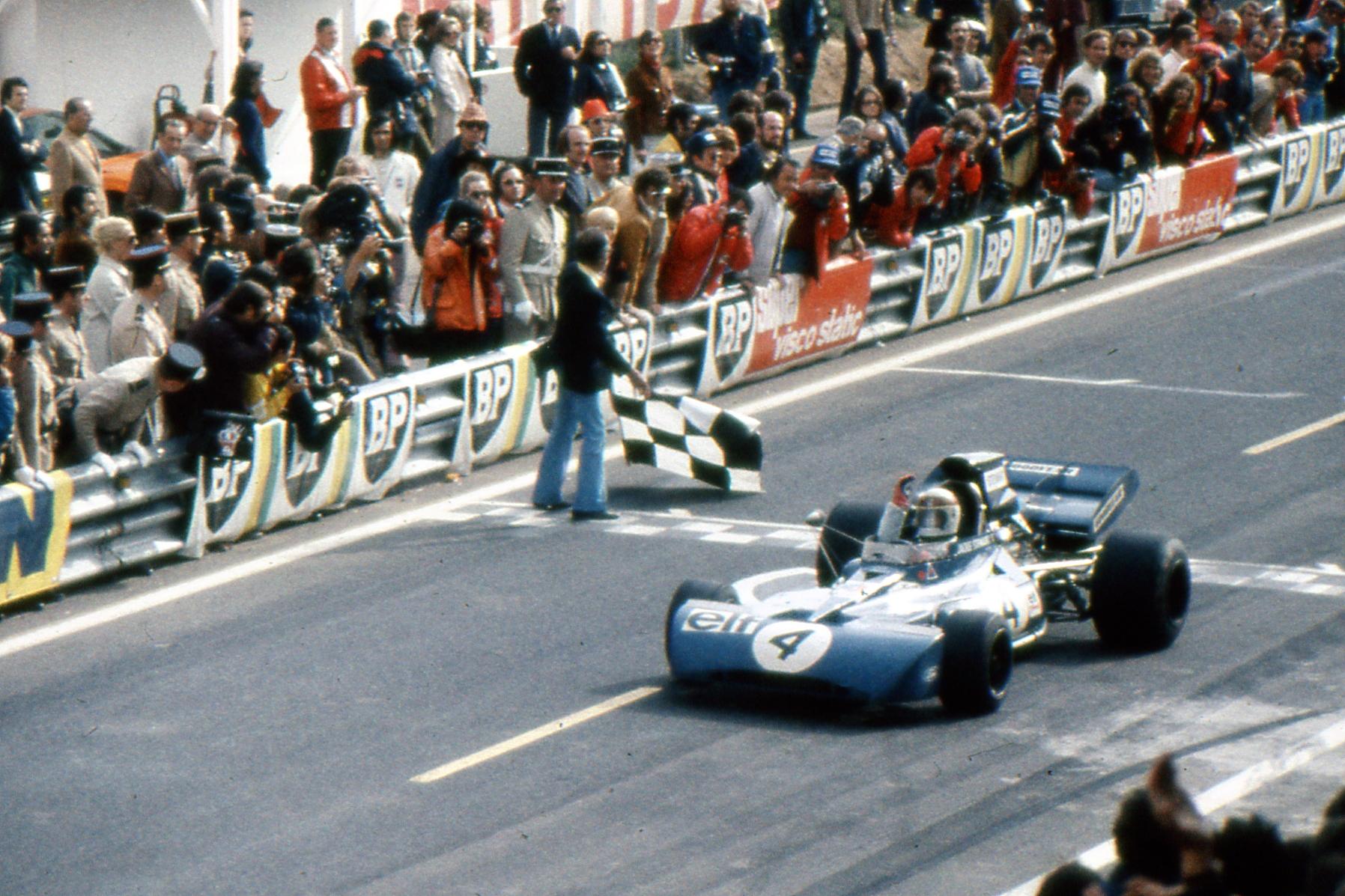 Jackie Stewart GP Francia 1972