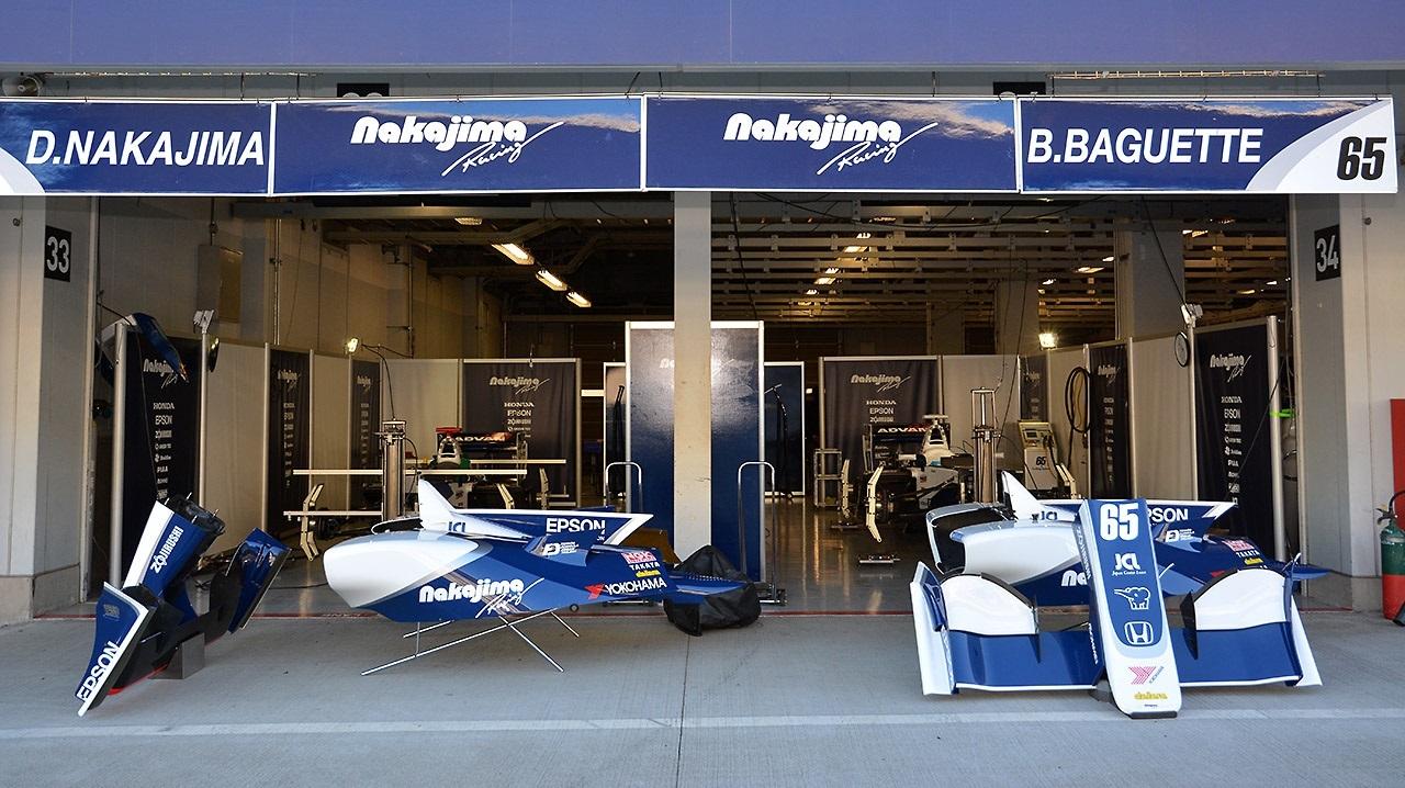 Nakajima Racing Test 2016 Super Fórmula
