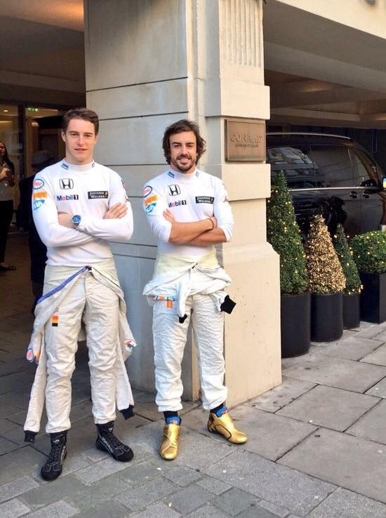 ¿Cuánto mide Fernando Alonso? - Altura - Real height StoffelVandoorneFernandoAlonso