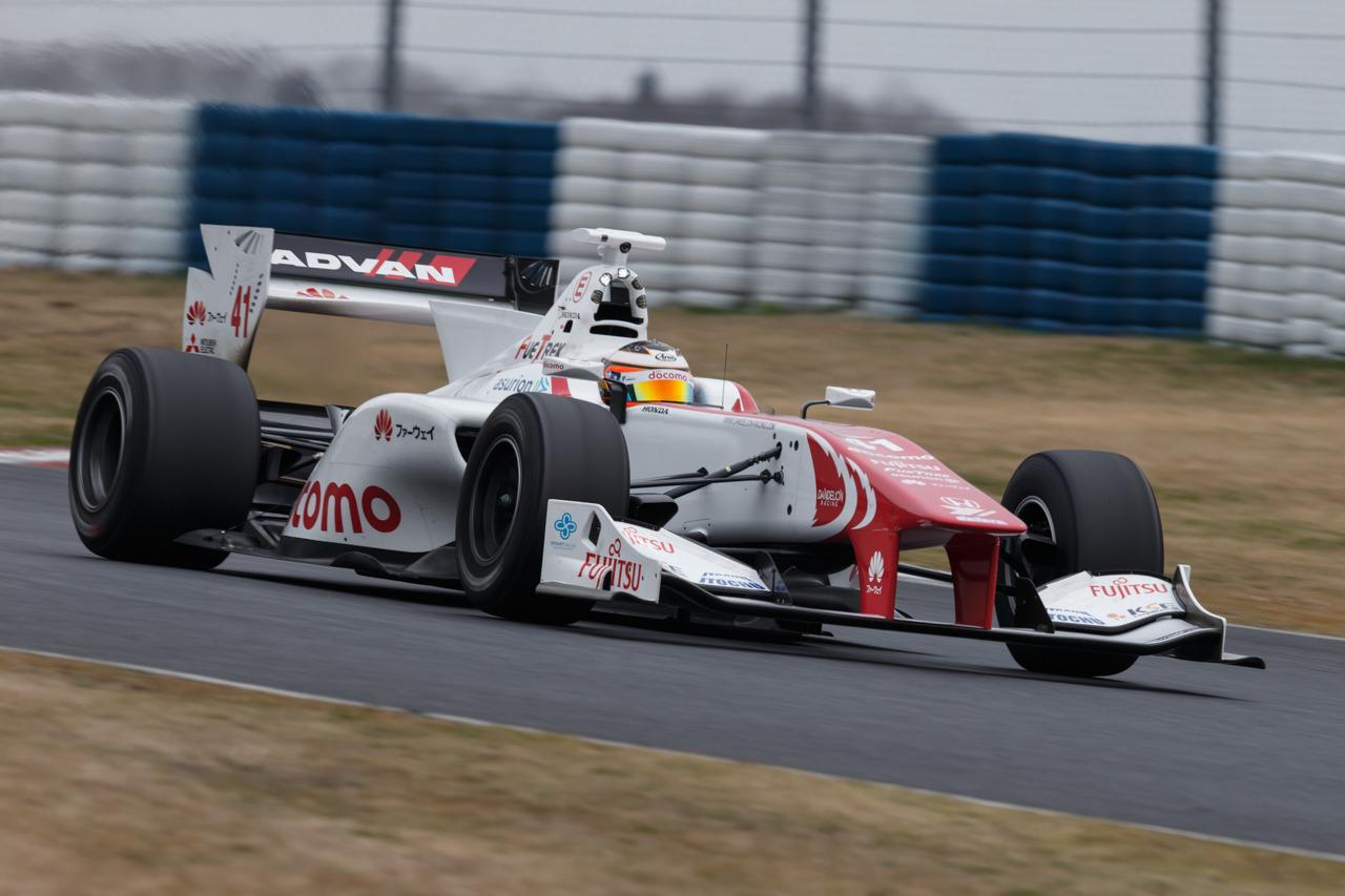Stoffel Vandoorne Test Okayama 2016 Super Fórmula