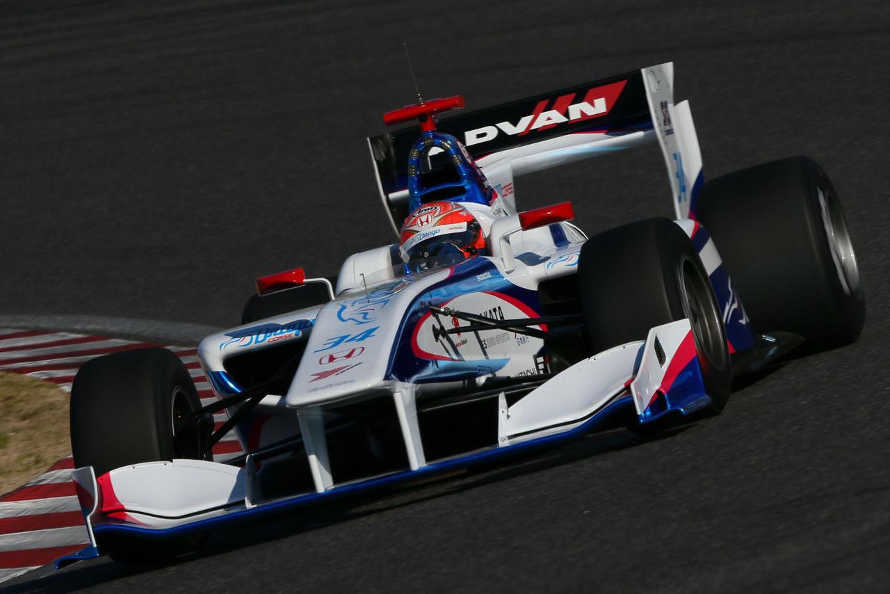 Takashi Kogure 2016 Super Fórmula Test 0