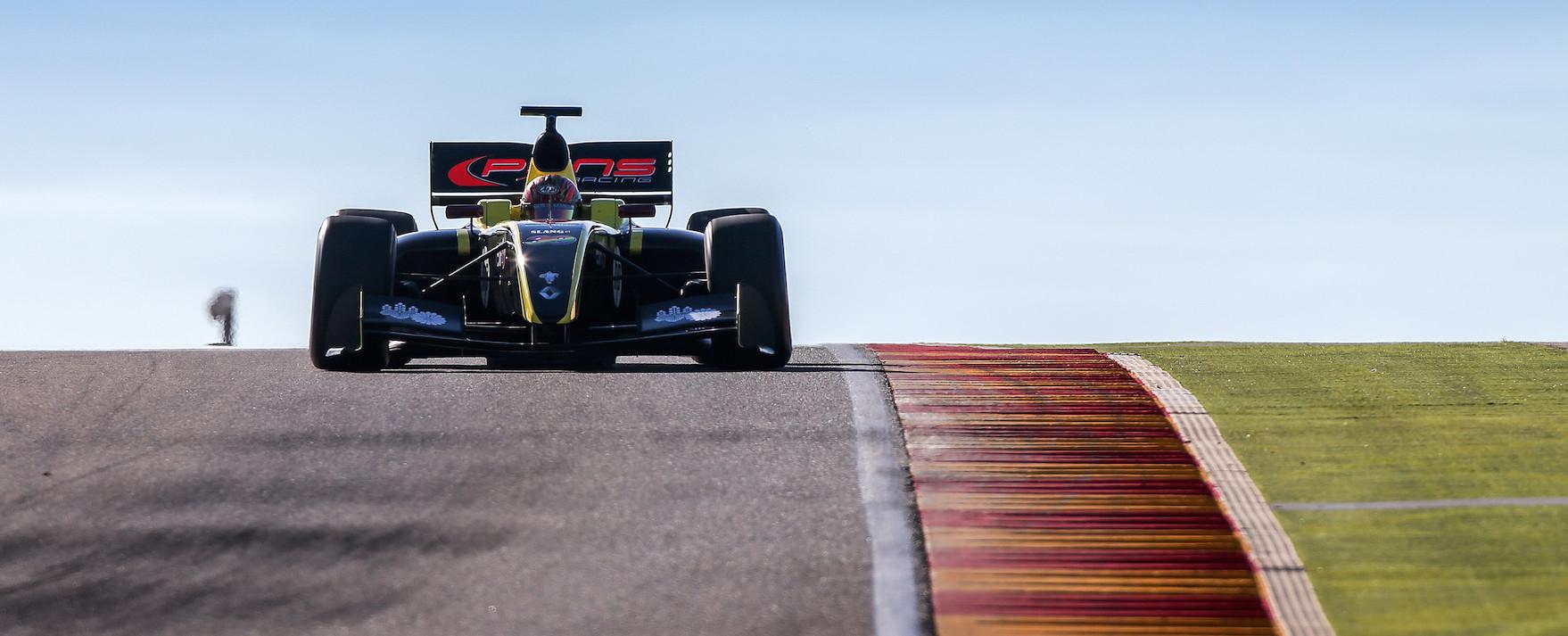 Yu Kanamaru Pons Racing Test 2015 Aragón
