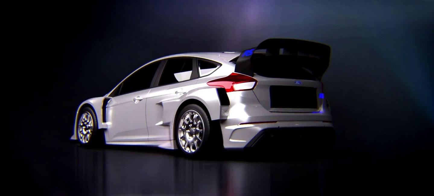 Ken Block y Ford presentan el nuevo Focus RS RX para la Gymkhana 9 - Competición