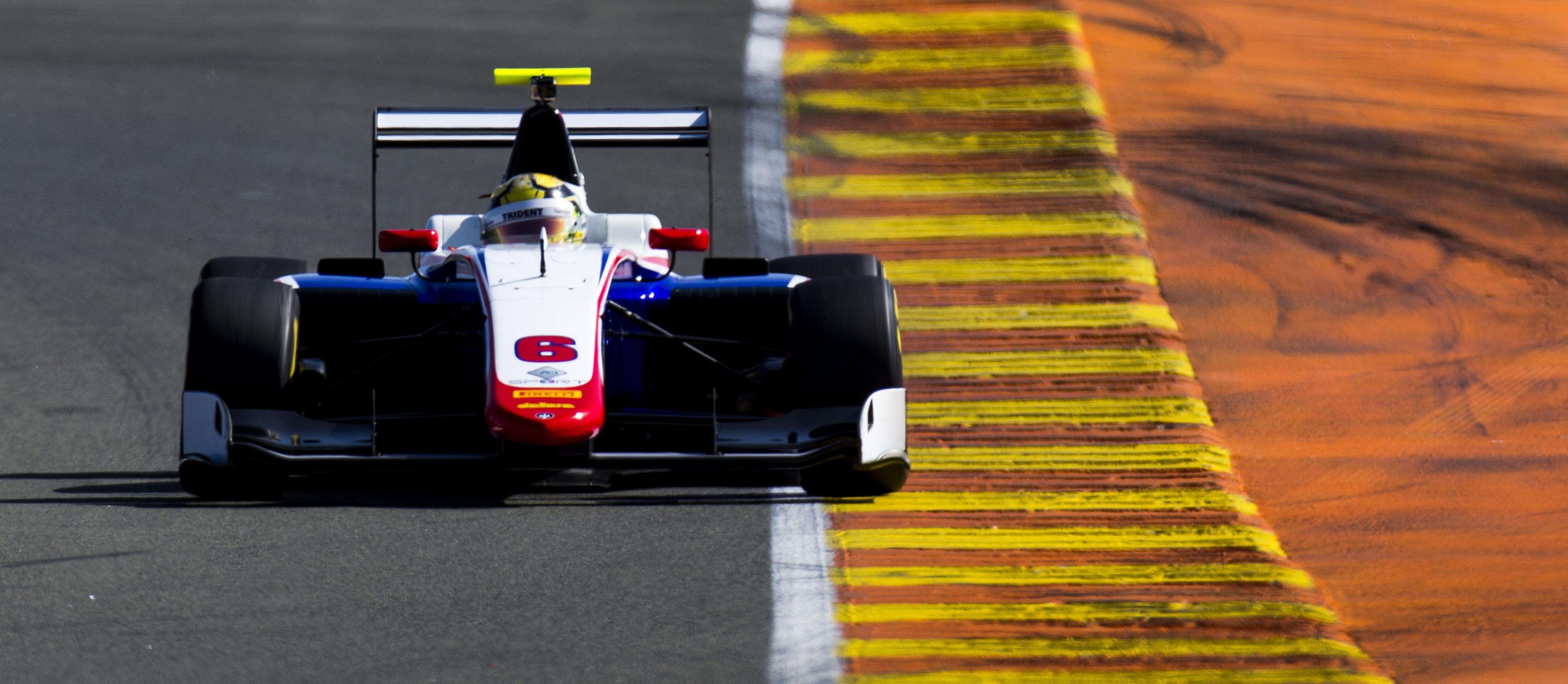 Artur Janosz Test GP3 Valencia 2016 Día 1
