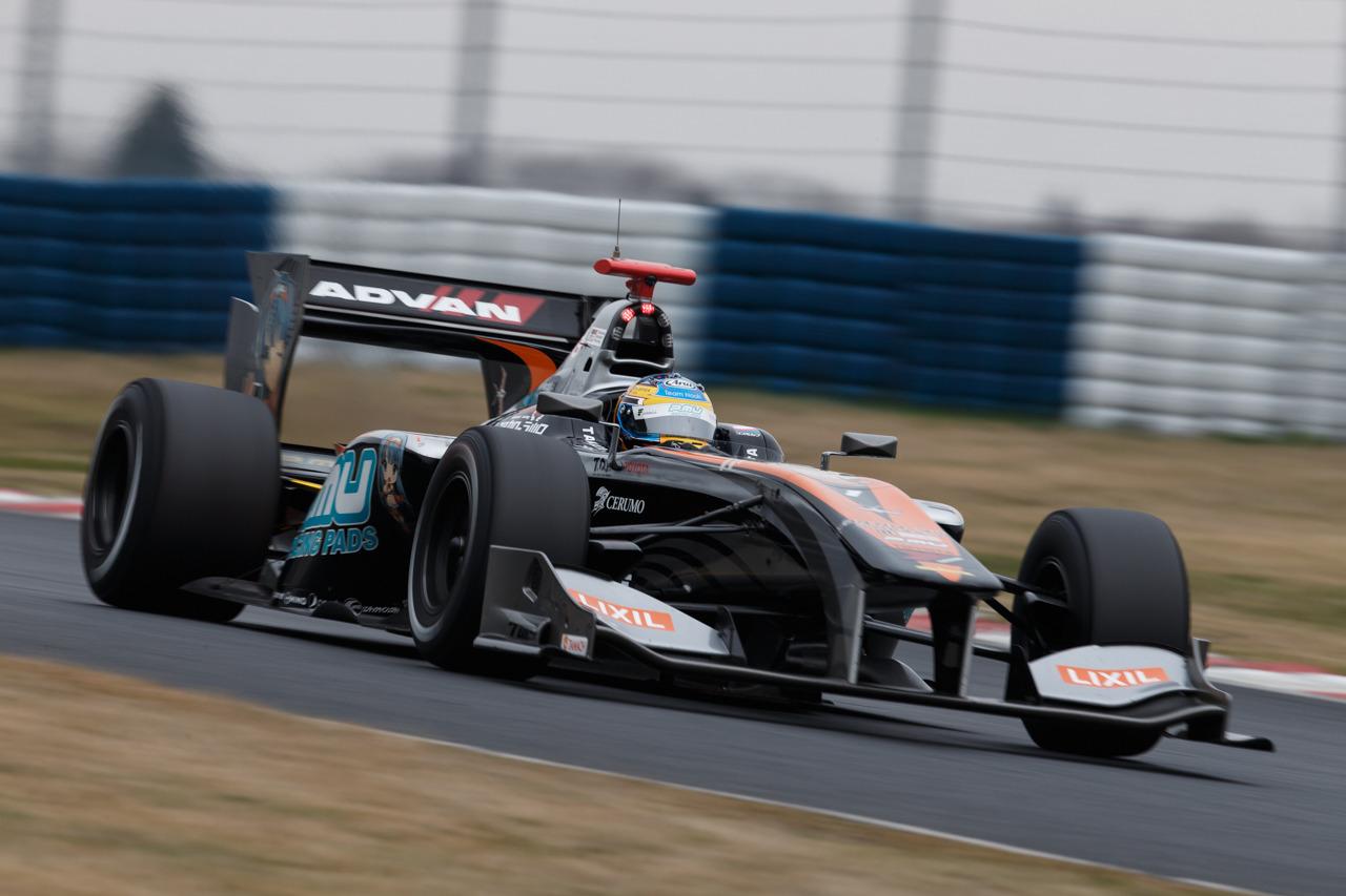 Hiroaki Ishiura Super Fórmula Test Okayama 2016
