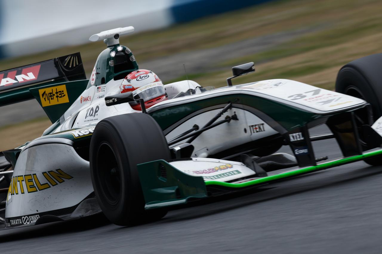 Kazuki Nakajma Super Fórmula Test Okayama 2016